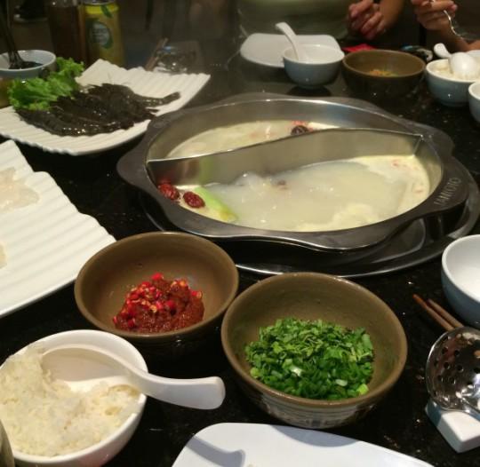 Singapore Japanese dinner