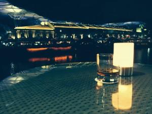 Clarke Quay nightlife silent view