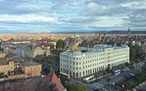 Nice view on Sibiu Old City