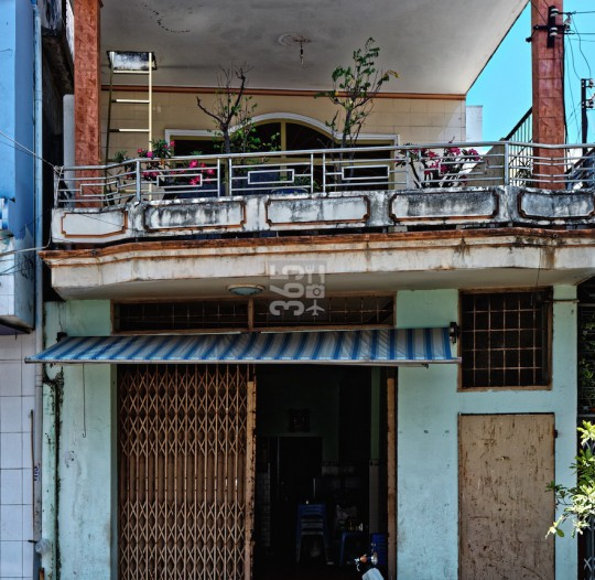 Phan Thiết townhouse architecture