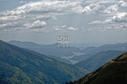 "View on reservoir ""Vidraru"""