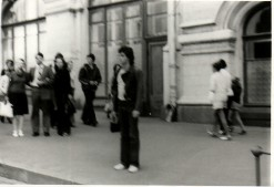 Blurred on Gorkiy Street, Moscow 1978