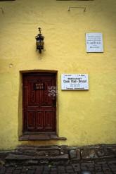 Sighisoara (Schässburg), Transylvania, Vlad Tepes (Dracula) birth house